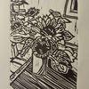Kalender, Sonnenblumen, Vase, Jahreszeiten