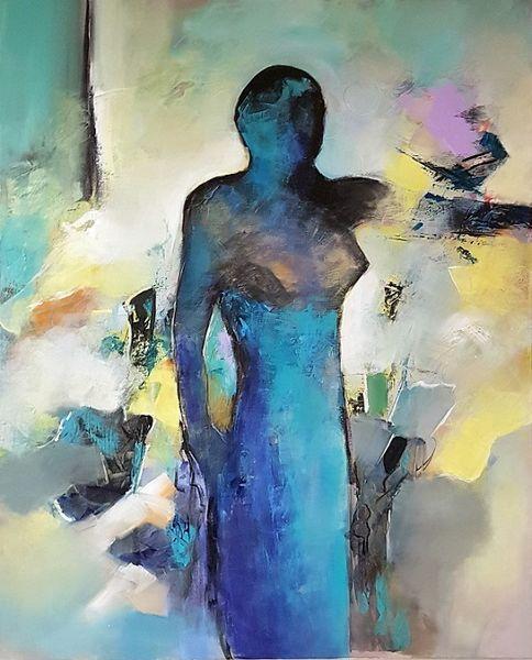 Abstrakte kunst, Gemälde abstrakt, Acrylmalerei, Abstrakte malerei, Moderne malerei, Zeitgenössische malerei