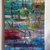 Gemälde abstrakt, Moderne kunst, Abstrakte malerei, Moderne malerei