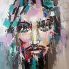 Portrait, Abstrakte kunst, Gemälde abstrakt, Gesicht