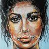 Moderne malerei, Portrait, Malerei, Zeitgenössische malerei