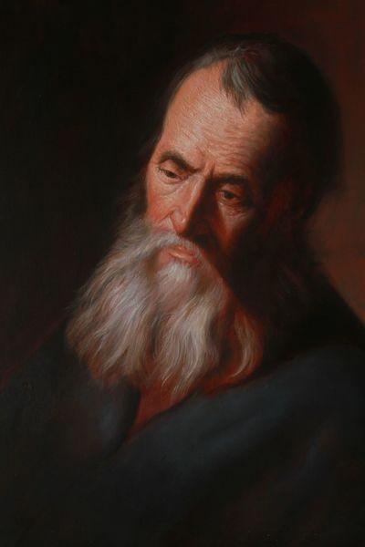 Meister, Alter meister, Rembrandt, Lievens, Untermalung, Thorsten bechtluft