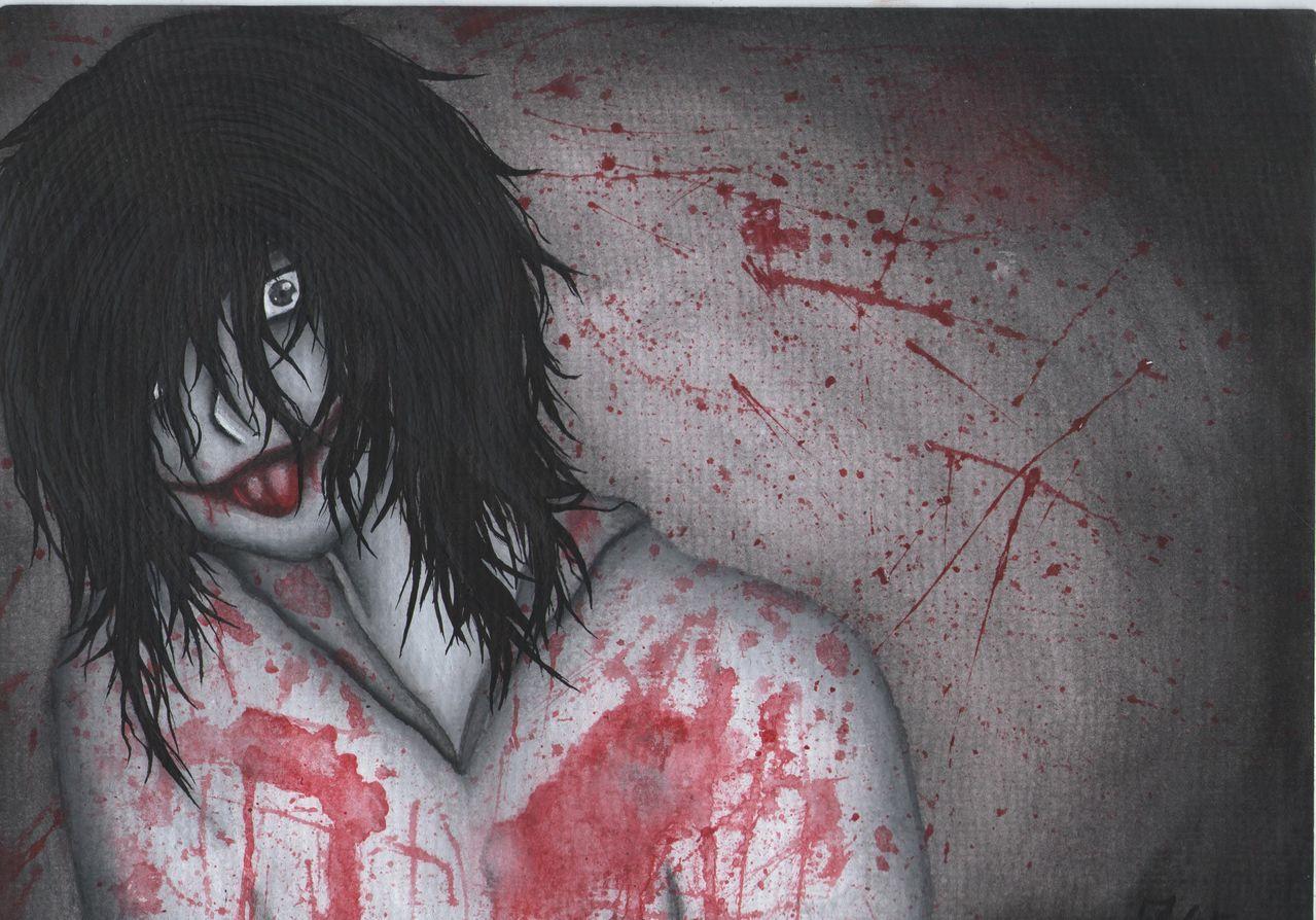 Jeff The Killer Zeichnung Manga Jeff The Killer Creepypasta Von