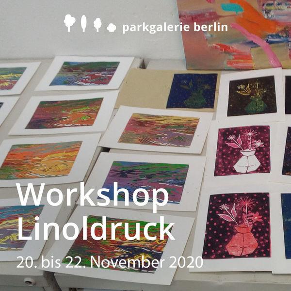 Linoldruck, Parkgalerie, Berlin, Werkstatt