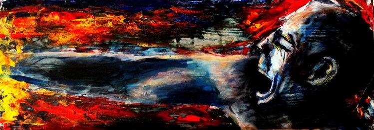 Abstrakt, Hungrige, Portrait, Tod, Video, Bleistiftzeichnung