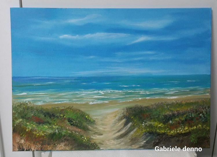 Kunstwerk, Sehnsucht, Meer, Ostsee, Strand, Juist