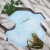 Frosch, Marmor, Tierportrait, Objektdesign