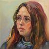 Ölmalerei, Malerei, Gesicht, Frau