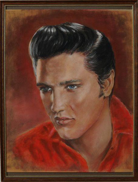 Portrait, Elvis presley, Zeichnungen