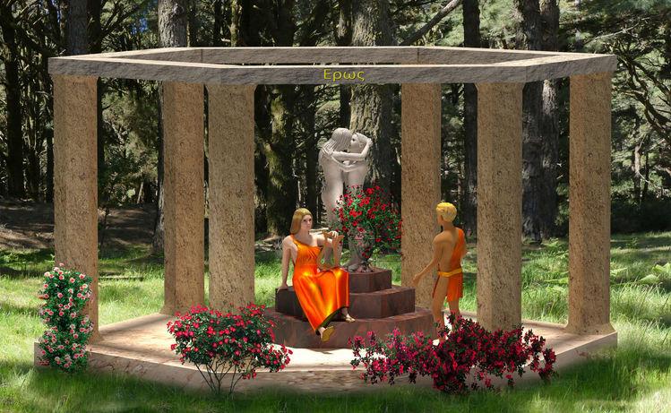 Blender, Apollo, Muse, Wald, 3d, Griechische mythologie