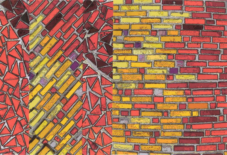 Abstrakt, Farben, Bunt, Wandmalerei, Graffiti, Bschoeni
