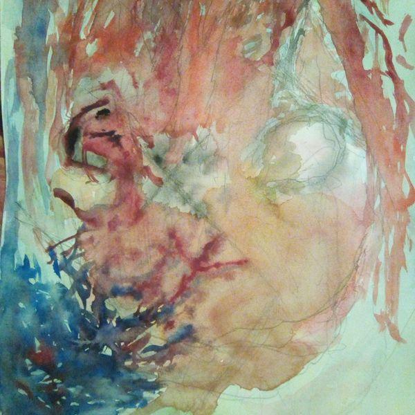 Surreal, Ausdruckslos, Ertragen, Orientierung, Portrait, Badart