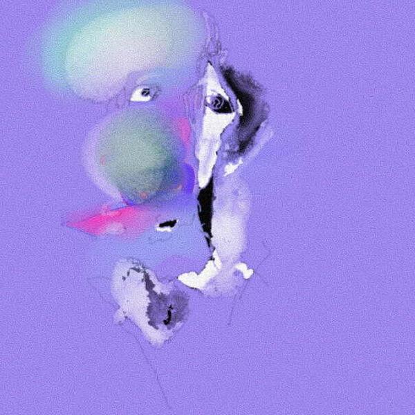 Fantasiewesen, Abstrakt, Portrait, Digital, Digitale kunst