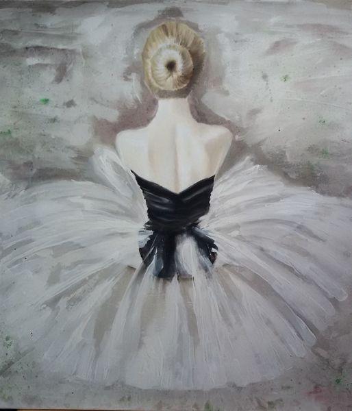 Tanz, Ölmalerei, Ballerina, Ballett, Malerei
