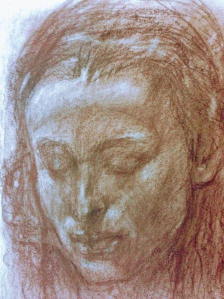 Zeichnung, Renaisance, Portrait, Zeichnungen