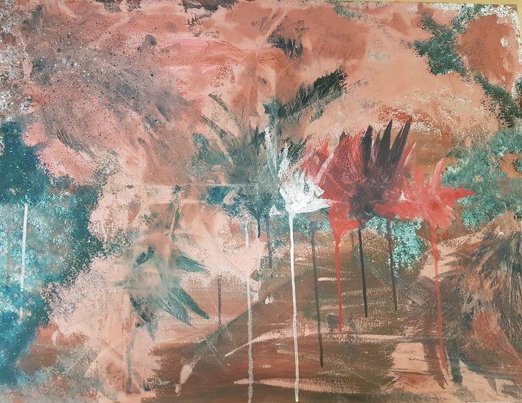 Gefühl, Acrylmalerei, Ausdruck, Abstrakt, Malerei