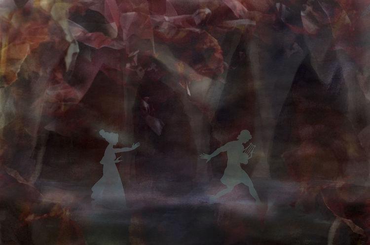 Menschen, Frau, Dunkel, Unterwelt, Figur, Theater