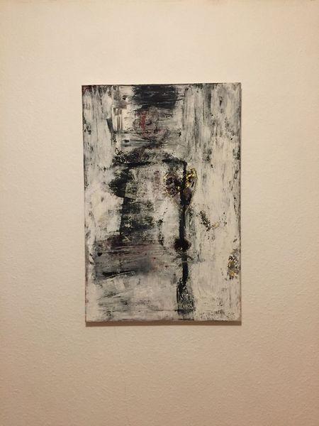 Leinen, Pigmente, Abstrakt, Malerei, Schmerz