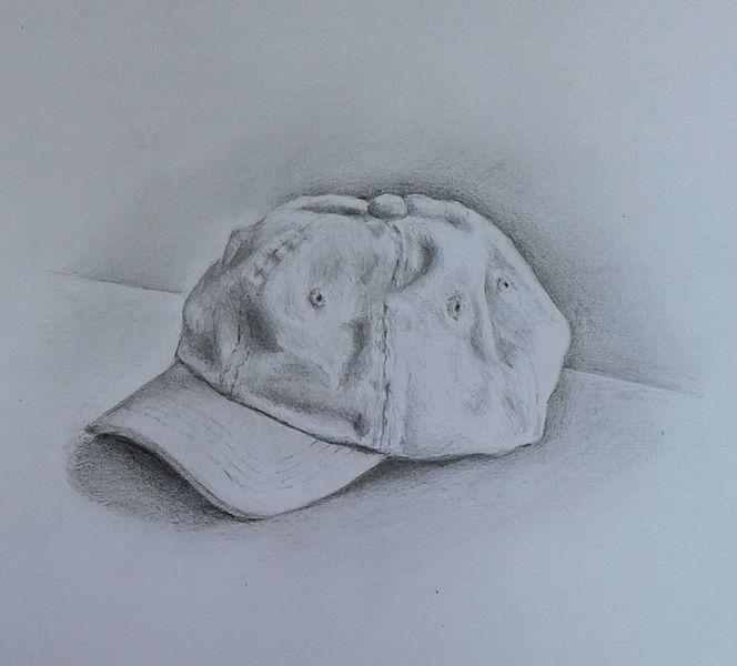 Skizzenbuch, Baseballmütze, Bleistiftzeichnung, Zeichnungen, Hut