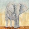 Kraft, Aquarellmalerei, Afrika, Energie