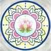 Lotos, Blumen, Mandala, Lotosblume