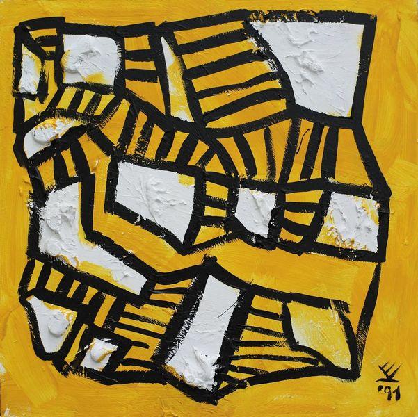 Gelb, Bonsaibaummeister, Imker, Gemälde, 2323, Vincent van volkmer