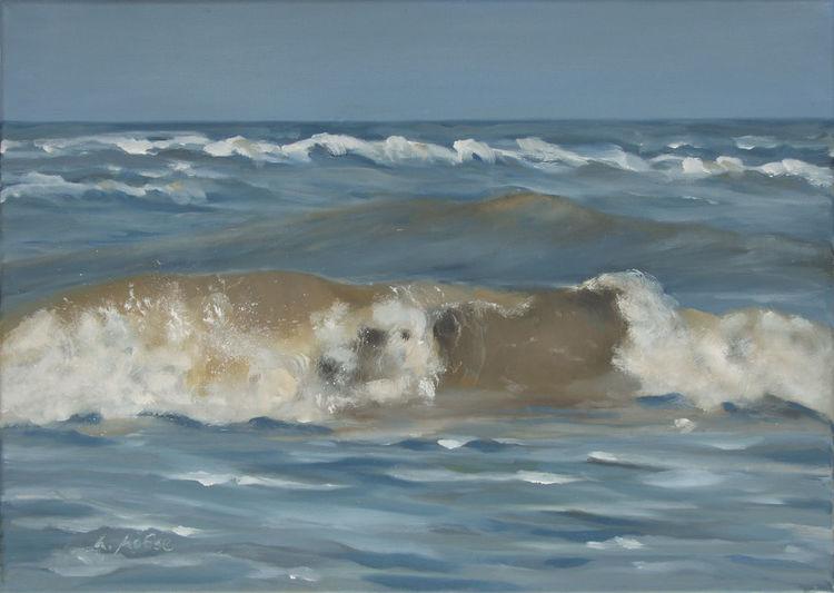Welle, Küste, Licht, Insel, Meer, Wind