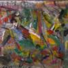 Abstrakter expressionismus, Malerei, Hommage, Abstrakt