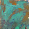 Türkis, Abstrakter expressionismus, Ocker, Malerei