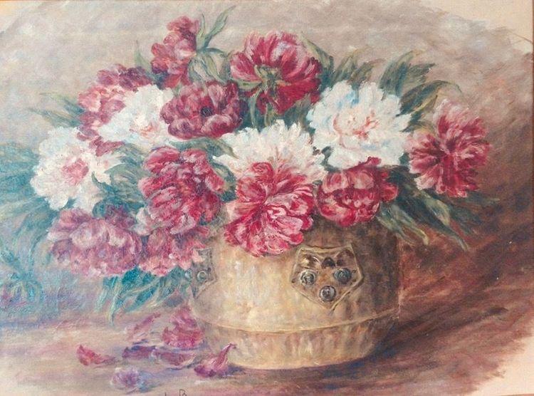 Pinnwand, Ganzes, Gemälde