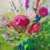 Blumen, Blumenstrauß, Malerei
