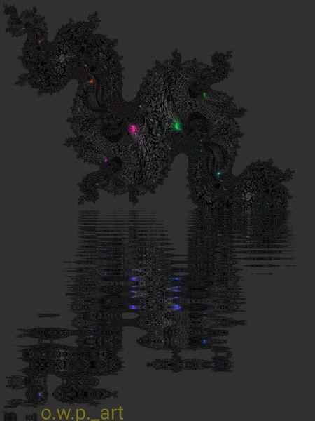 Seele, Kunstwerk, Goa, Digitalartwork, Farben, Abstrakt