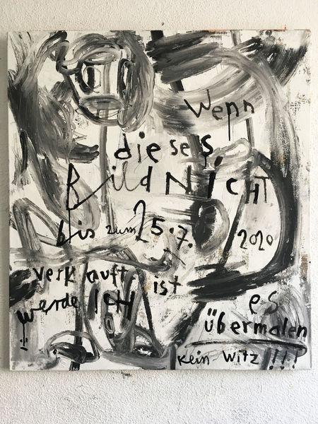 Abstrakt, Zeit, Juli2020, Malerei,