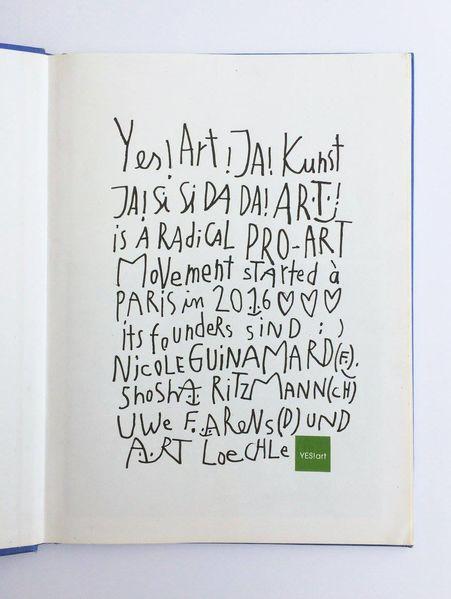 Yes, Paris, Yesart, Mischtechnik,