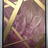 Acrylmalerei, Farben, Abstrakt, Rosa