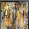 Acrylmalerei, Schwarz, Modern, Malerei