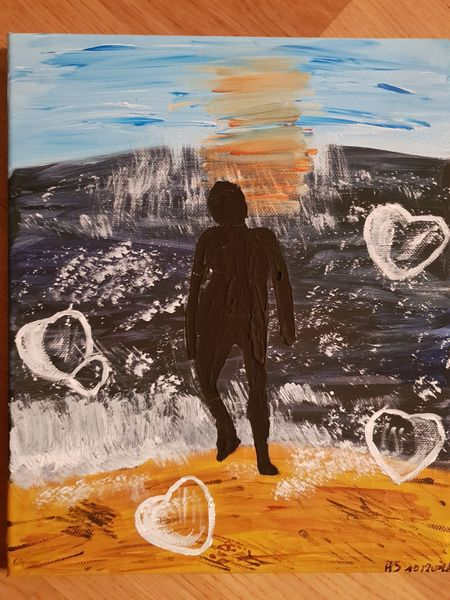 Malerei, Malerei modern, Acryl acrylmalerei