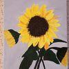 Pflanzen, Sonnenblumen, Acrylmalerei, Malerei