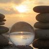 Sonne, Abend, Glaskugel, Frankreich