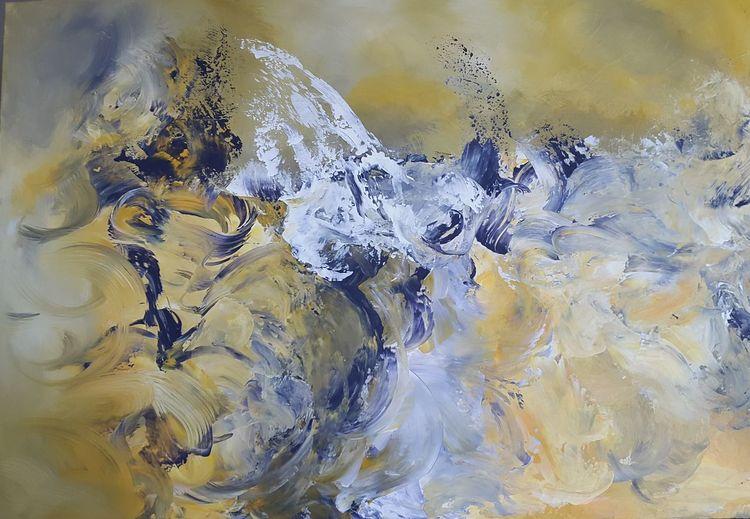 Abstrakt, Acryl acrylmalerei, Malerei, Modern art