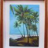 Palmen, Wasser, Strand, Welle