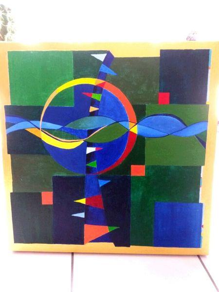 Modern, Malerei, Abstrakt