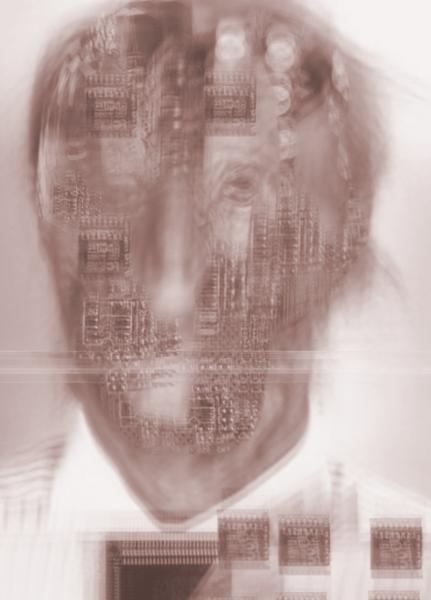 Zukunft, Gesicht, Modern art, Wissenschaft, Dystopisch, Portrait