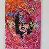 Gold, Abstrakt, Portrait, Pop art