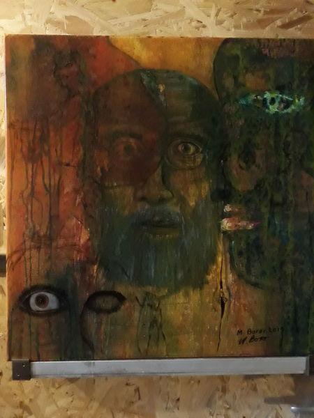 Menschen, Abstrakt, Modern art, Malerei