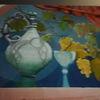 Licht, Farben stilleben, Blumen, Malerei