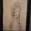 Menschen, Schwarz, Modern art, Zeichnungen
