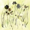 Pflanzen, Blumen, Wiese, Malerei