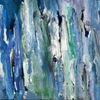 Blau, Menschen, Ansammlung, Malerei