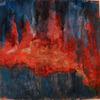 Feuer, Brand, Inferno, Malerei